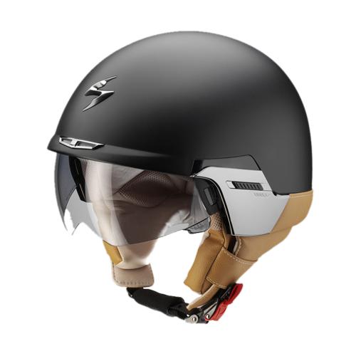 Scorpion Exo 100 Padova II jet helmet matte black