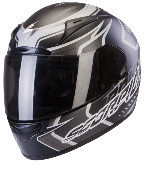 Casco integrale Scorpion Exo 2000 Air Circuit Nero Opaco