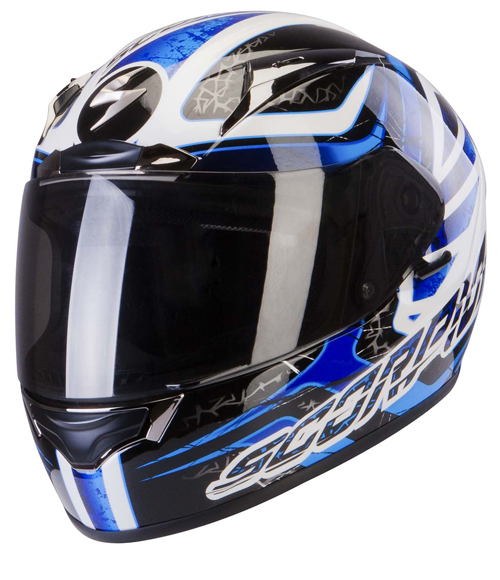 Scorpion Exo 2000 Air Shifter full face helmet Black Blue