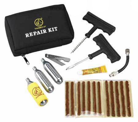x Kit riparazione pneumatici