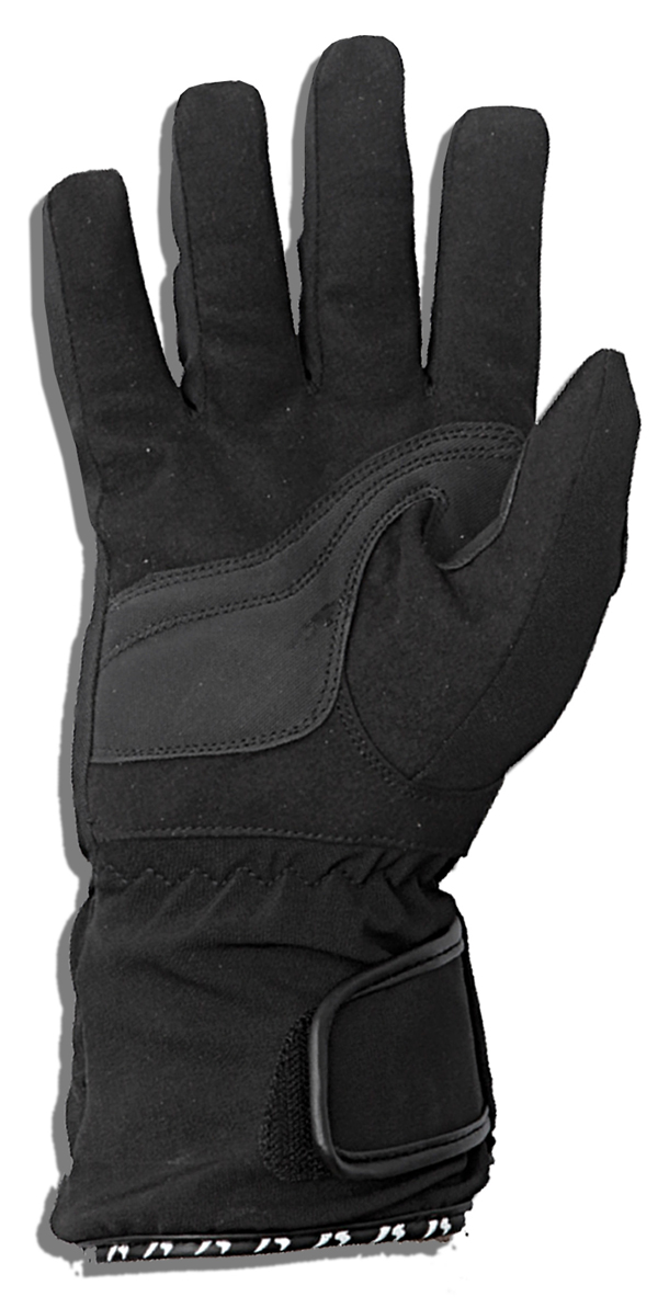 Winter motorcycle gloves Jollisport Way Black