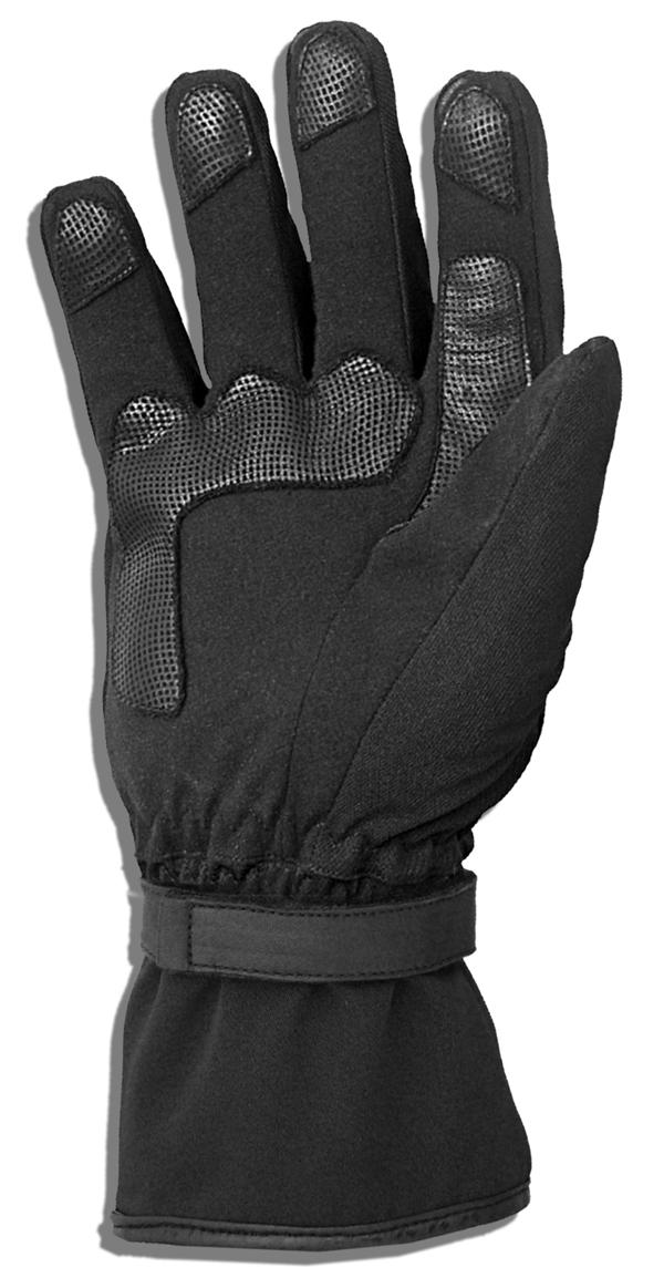 Winter motorcycle gloves Jollisport Cental Black