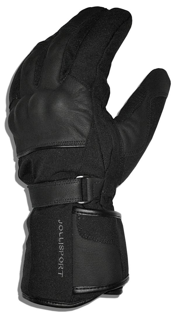 Winter motorcycle gloves Jollisport King Black