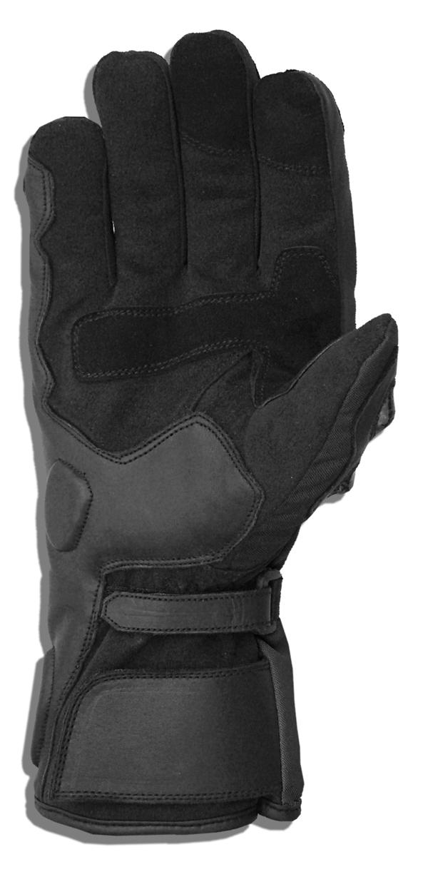 Winter motorcycle gloves Jollisport Max Black