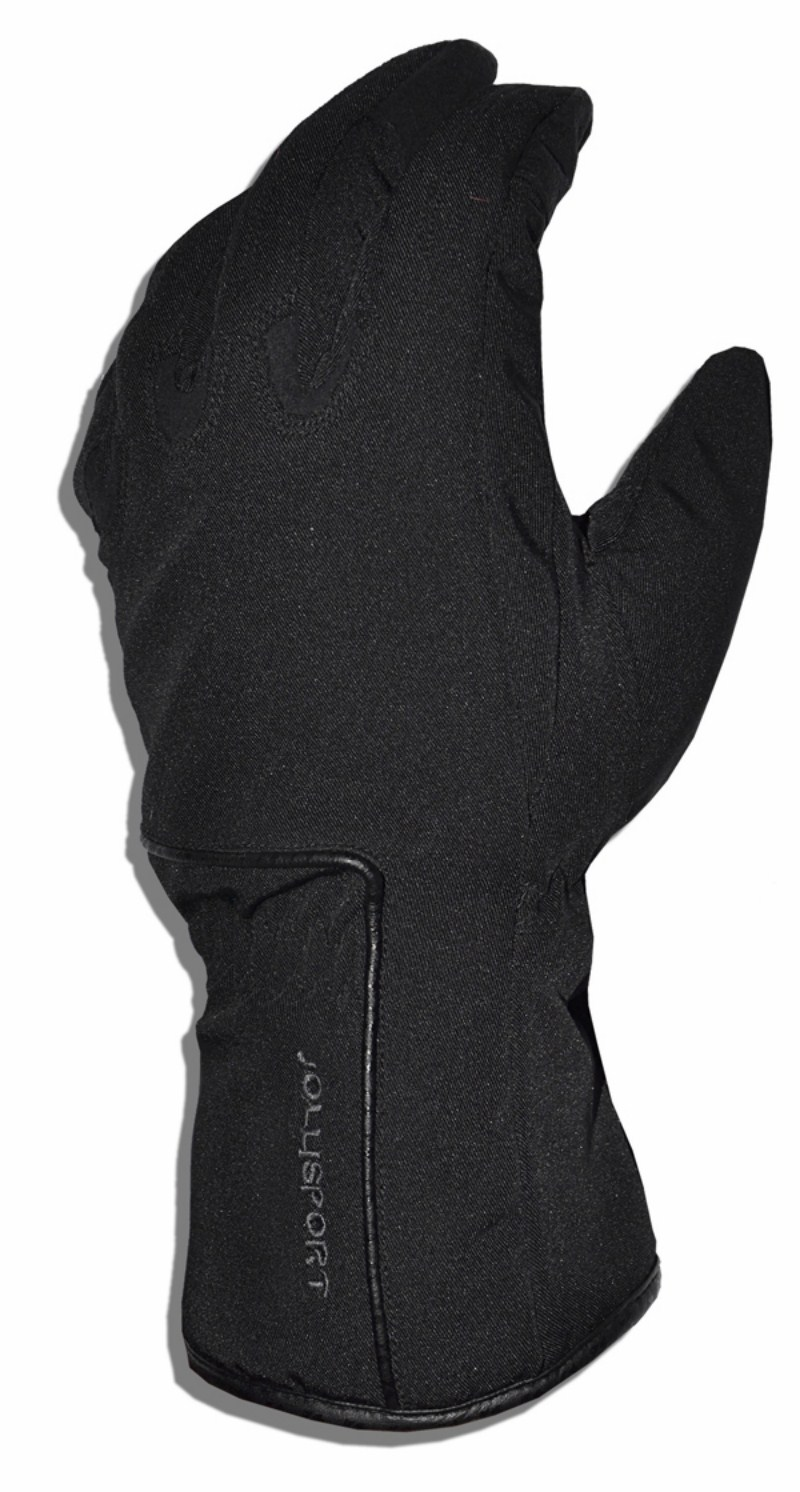 Winter motorcycle gloves Jollisport Ambro Black