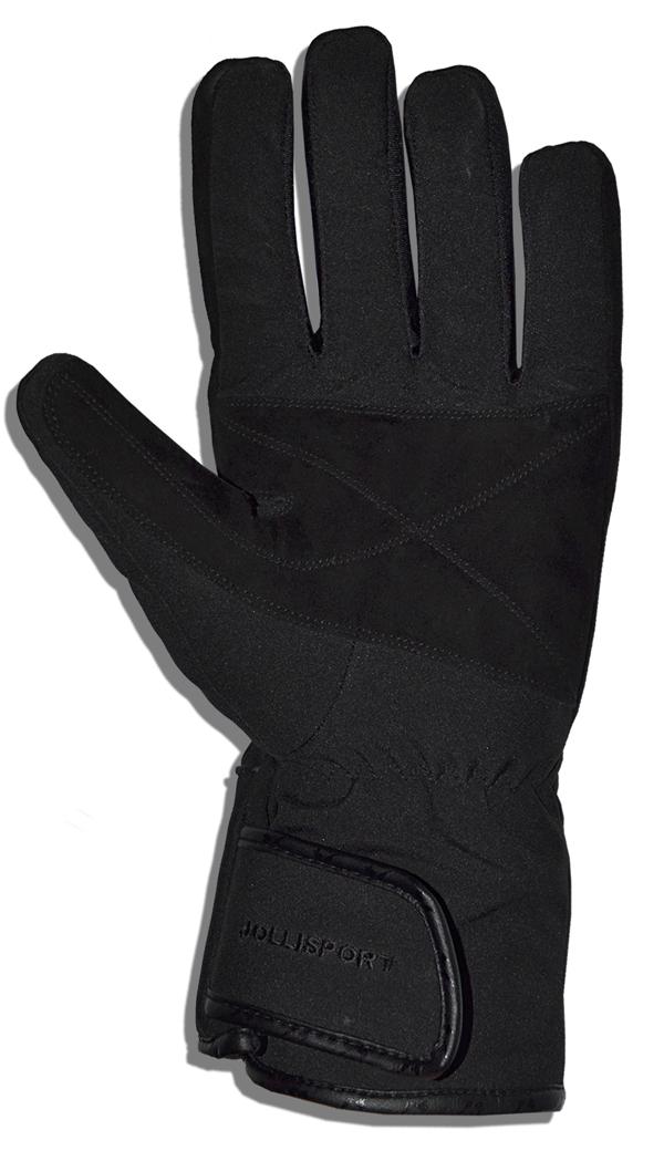 Gloves in Black Softshell Jollisport Road