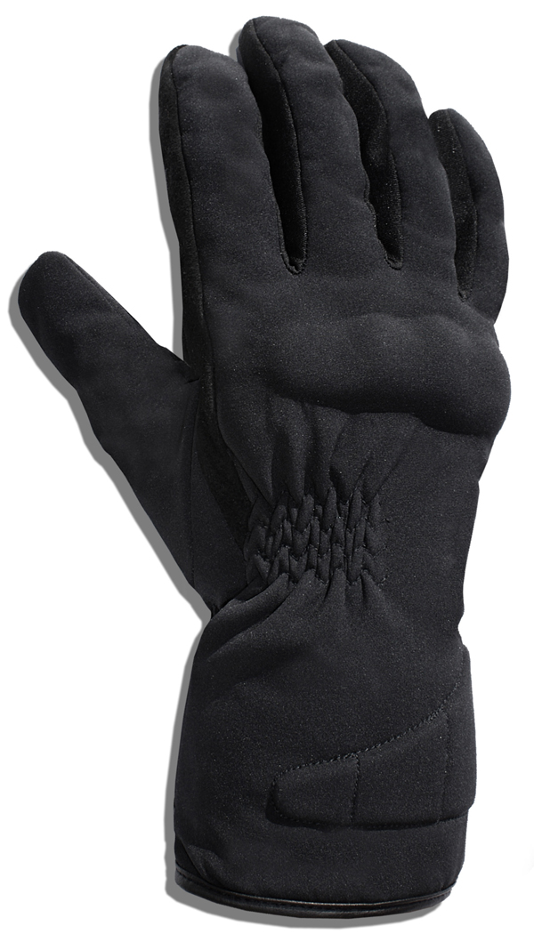 Gloves in Black Softshell Jollisport Namor