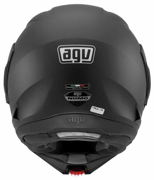 Agv Numo Evo Mono open-face helmet flat black