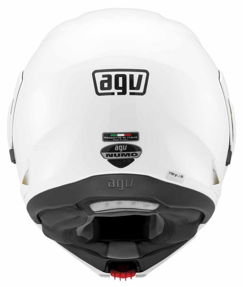 Agv Numo Evo Mono open-face helmet white