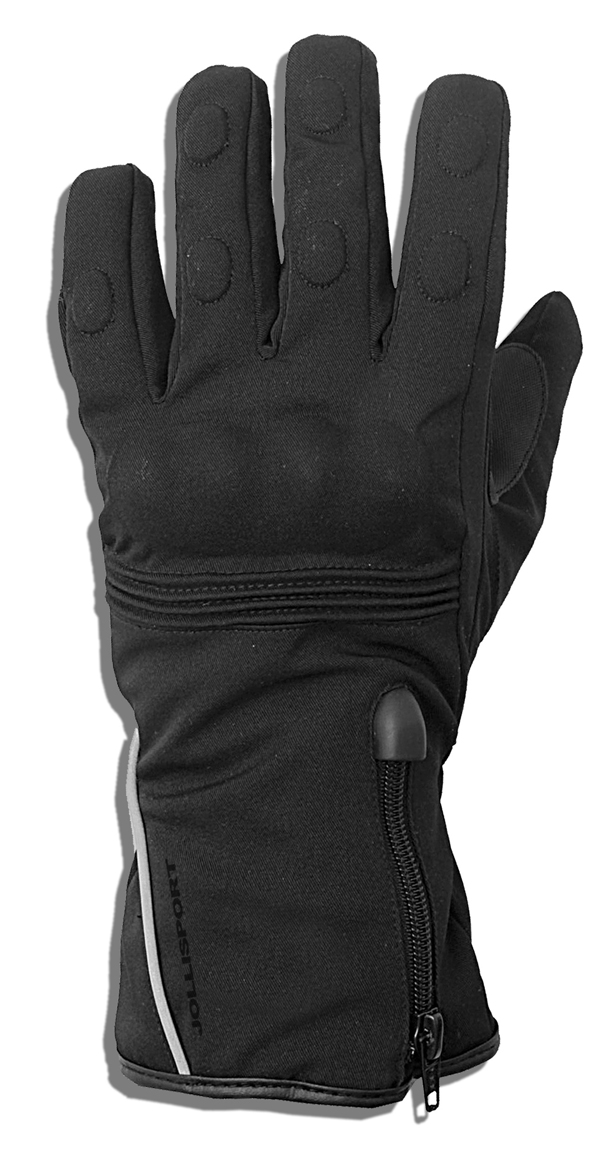 Winter motorcycle gloves Jollisport Run Black