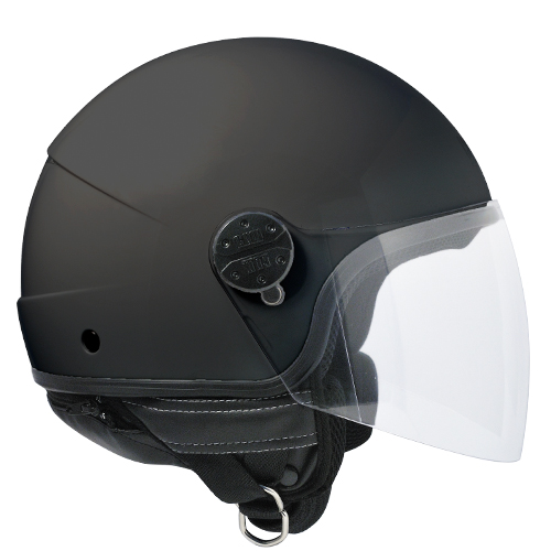 Jet helmet CGM Nevada 101A Black Rubberized