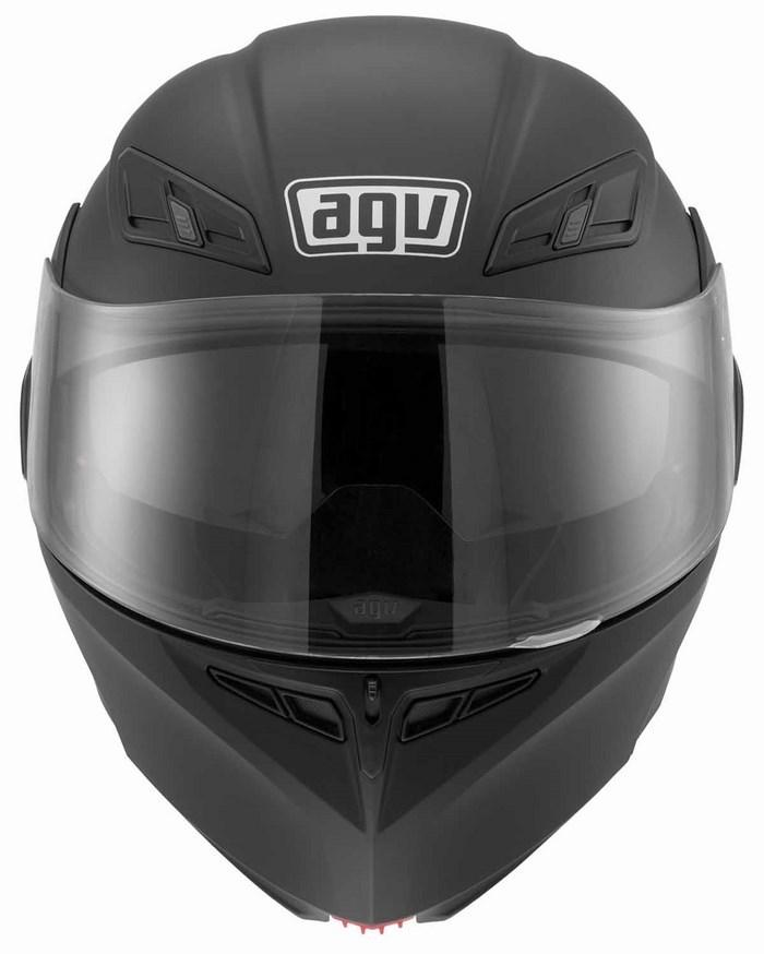 Casco moto Agv GT Compact Mono nero opaco