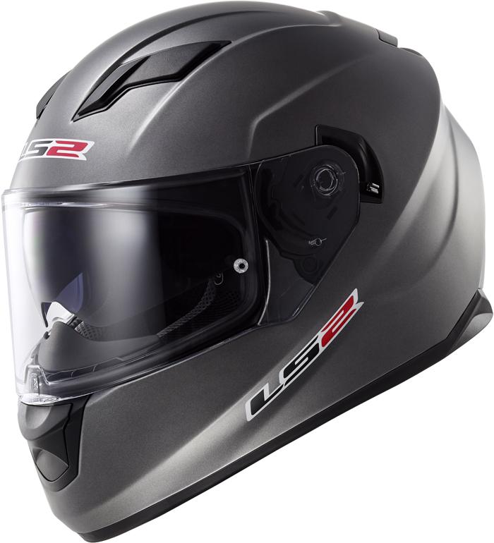 LS2 FF320 Stream full face helmet matt Titanium