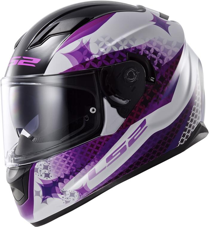 LS2 FF320 Stream Lux full face helmet White Pink