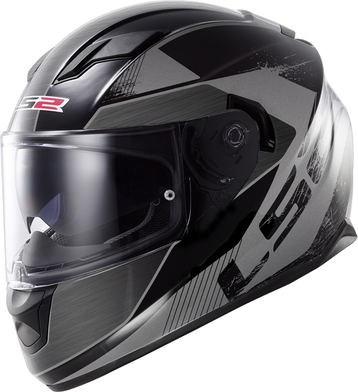 LS2 FF320 Stream Stinger full face helmet Black Titanium