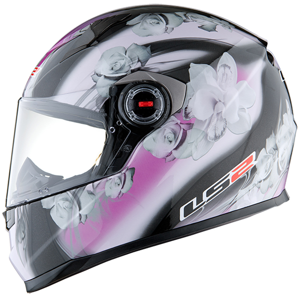 Full face helmet LS2 FF322 Black Pink Chic