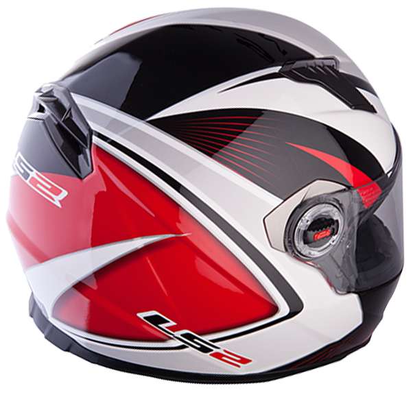 Full face helmet LS2 FF322 Race White Red