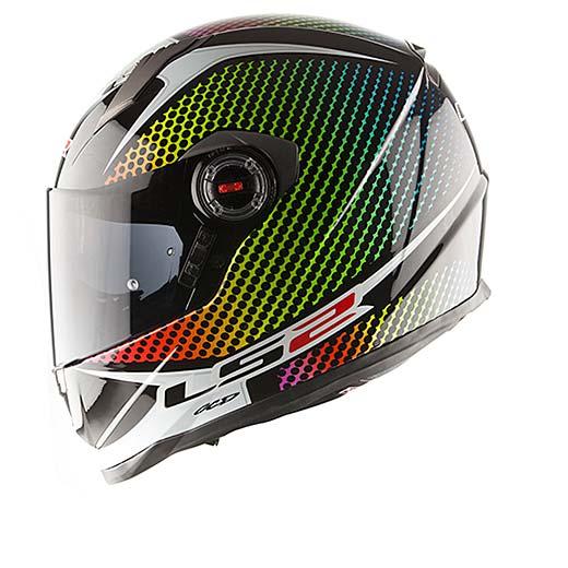 Full face helmet LS2 FF322 Wardots