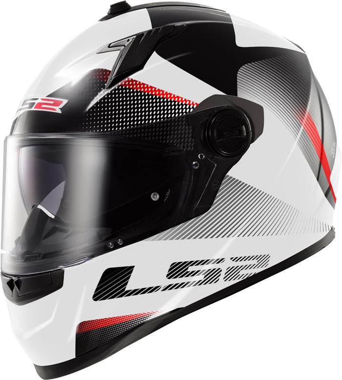 LS2 FF322 Concept II Tyrrell full face helmet White Black