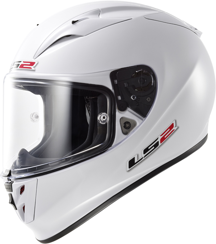 LS2 FF323 Arrow R full face helmet White