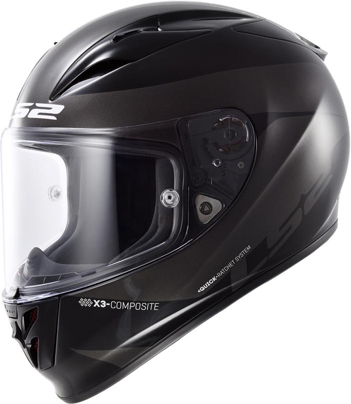 LS2 FF323 Arrow R Comet full face helmet Black Titanium