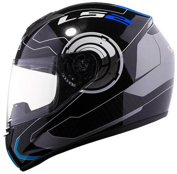 Full face helmet LS2 FF351 Black Blue Atmos
