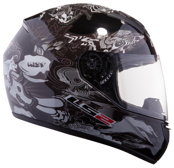 Full face helmet LS2 FF351 Black Comic