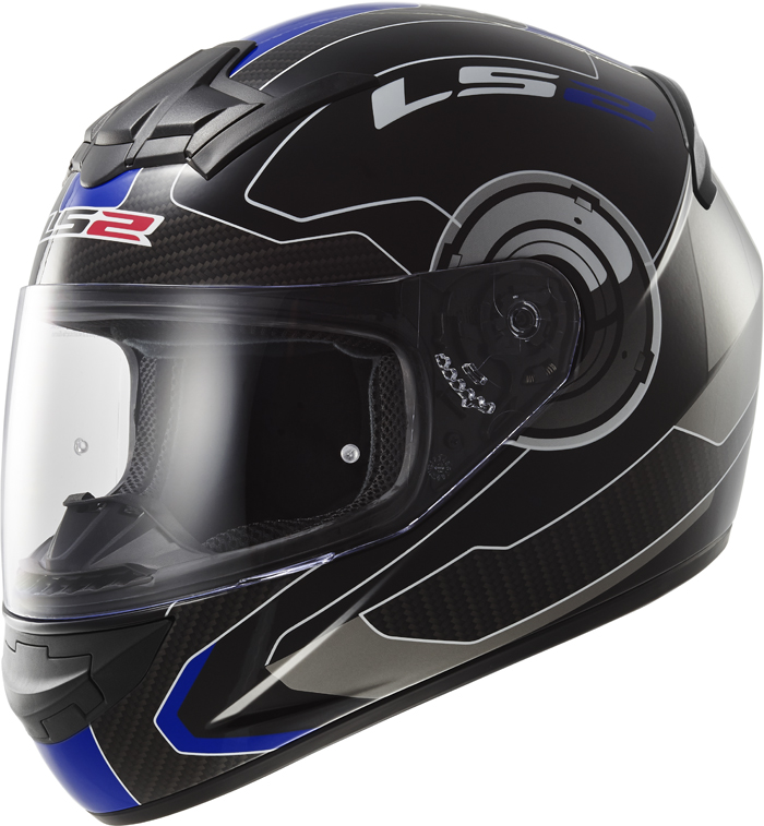 LS2 FF352 Rookie Atmos full face helmet Black Blue