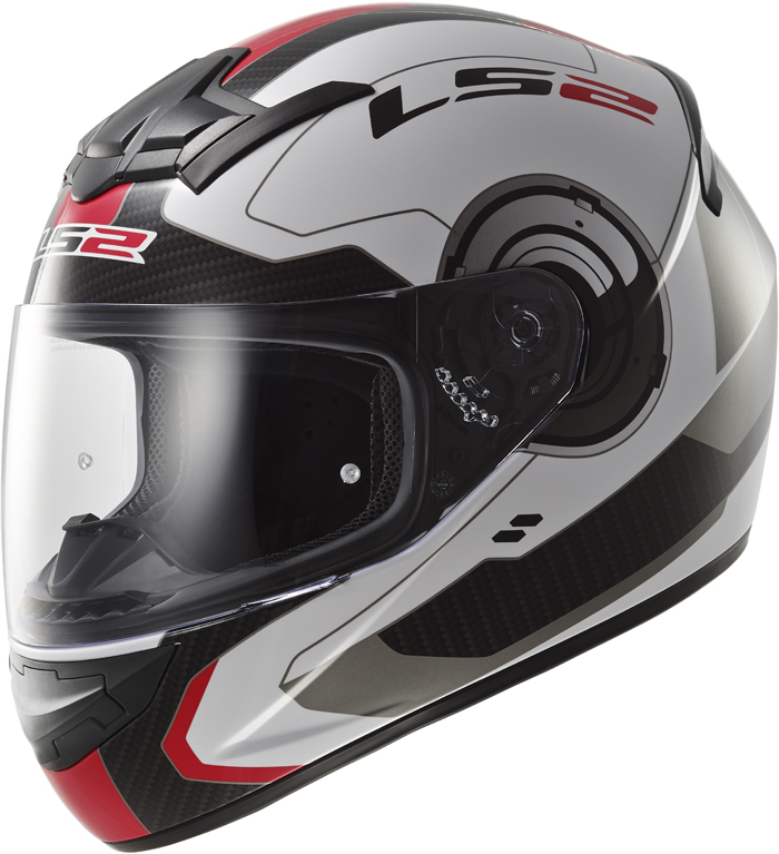LS2 FF352 Rookie Atmos full face helmet White Red