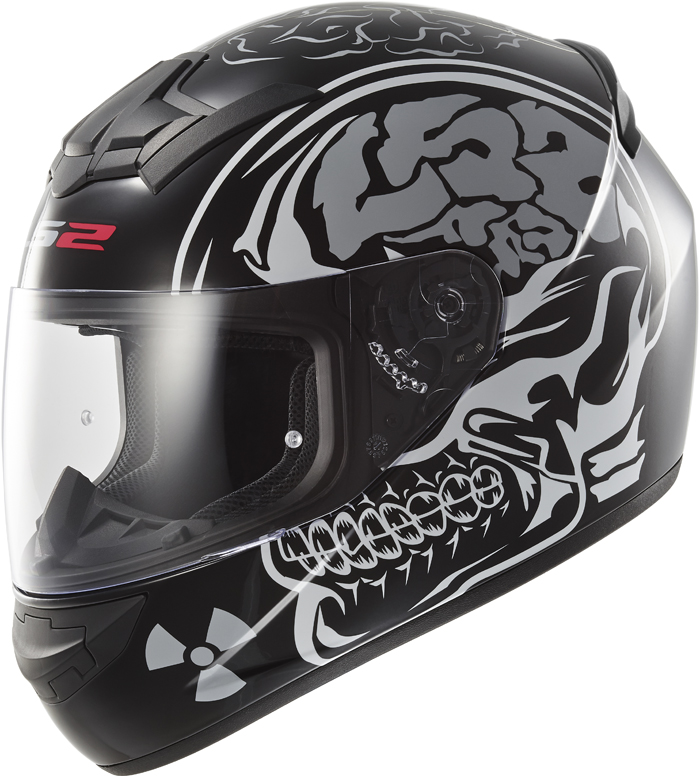 LS2 FF352 Rookie X-Ray full face helmet matte Black