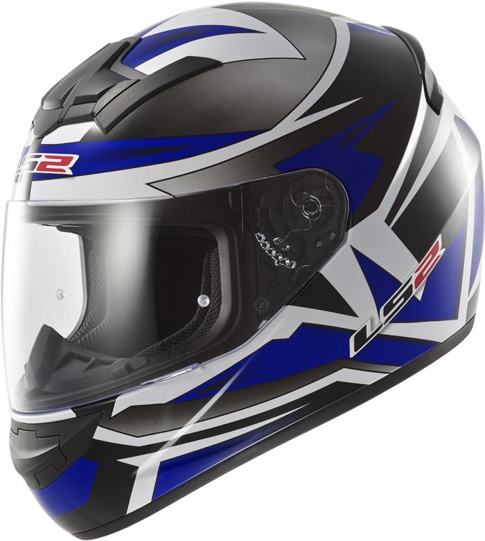 LS2 FF352 Rookie Gamma full face helmet Black Blue