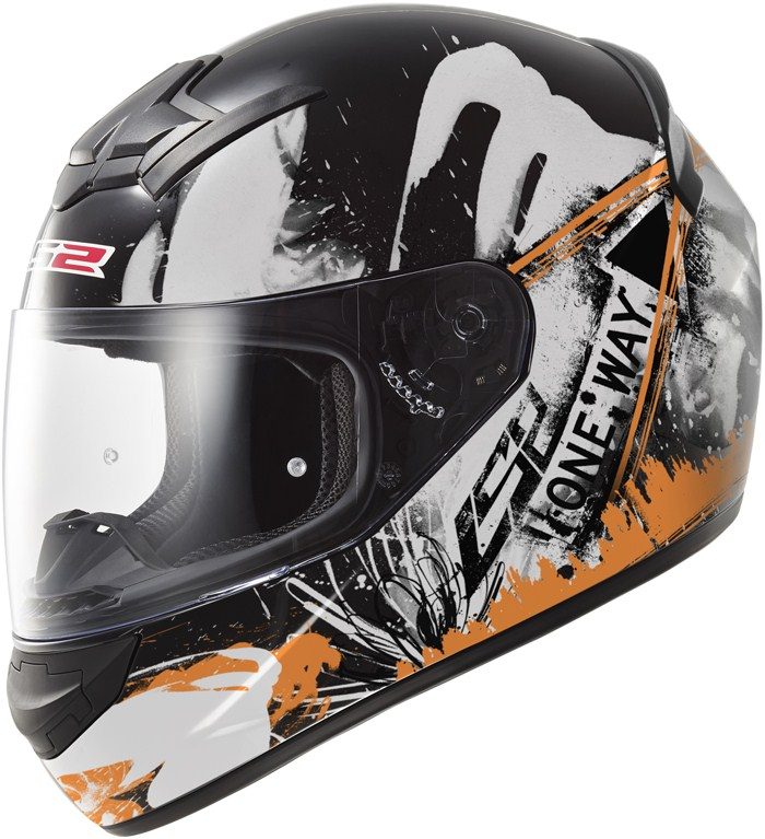LS2 FF352 Rookie One full face helmet Black Orange