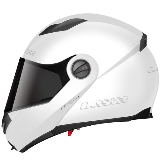 LS2 FF370 Easy full face helmet Gloss white