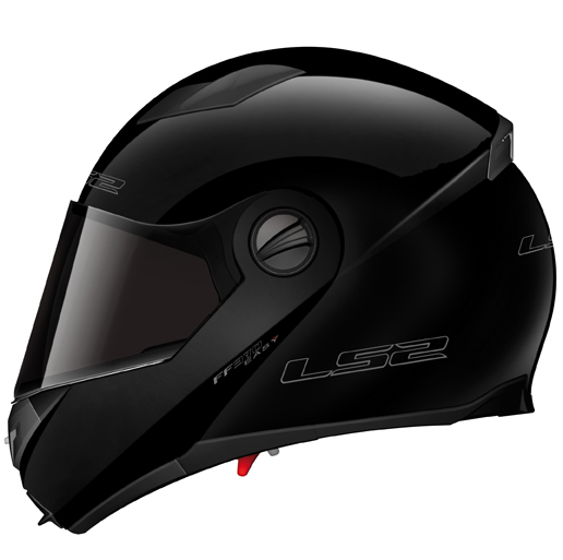 LS2 FF370 Easy full face helmet Gloss Black