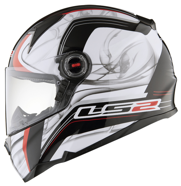Full face helmet LS2 FF396 FT2 Try White Red