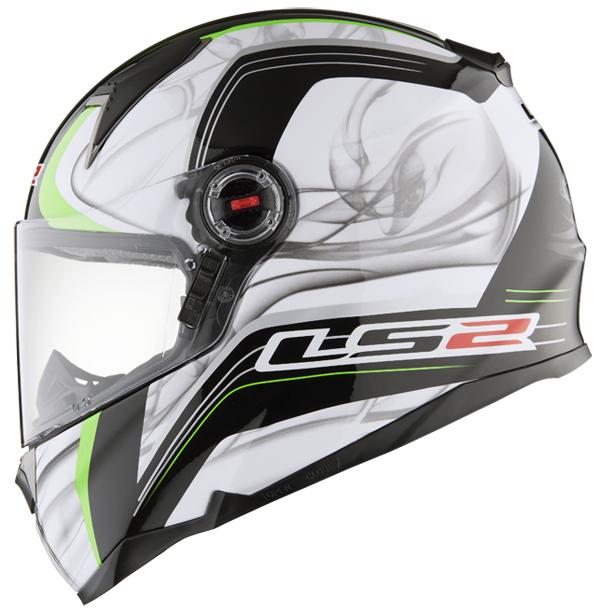 Full face helmet LS2 FF396 FT2 Try White Green