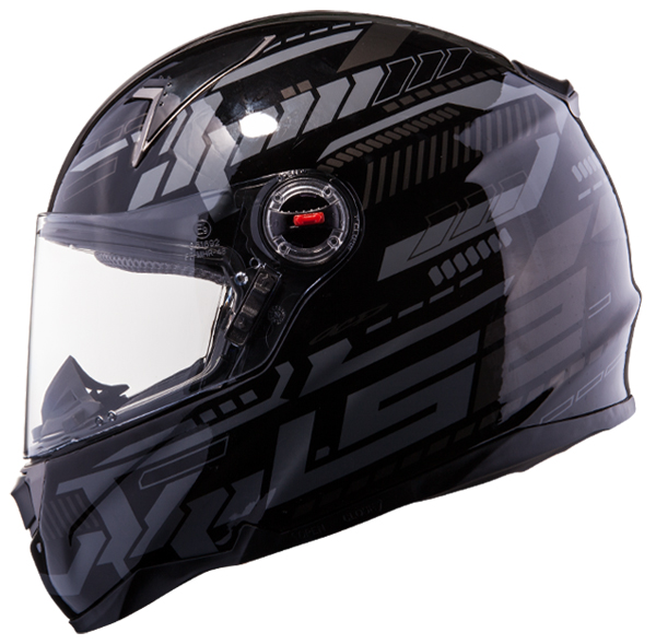 Full face helmet LS2 FF396 FT2 Tron Matte Black Titanium