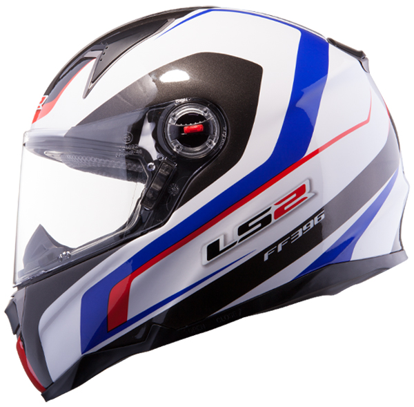 Full face helmet LS2 FF396 FT2 Force R White Blue Red