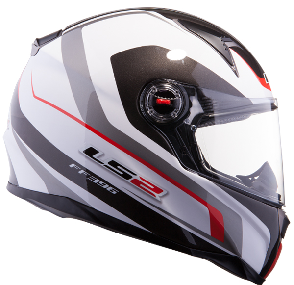 Full face helmet LS2 FF396 FT2 Force R White Red