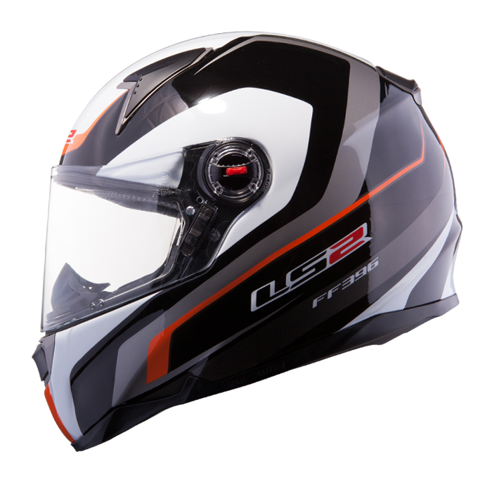 Full face helmet LS2 FF396 FT2 Force R Black Yellow fluo