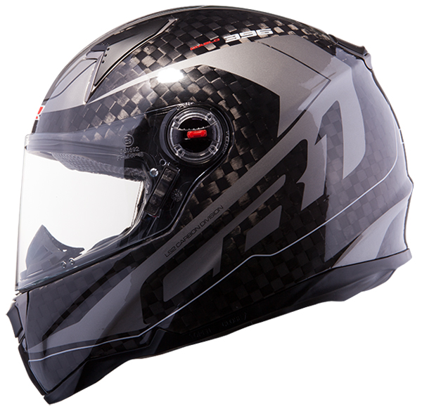 Casco integrale LS2 FF396 CR1 Diablo Carbonio Gunmetal