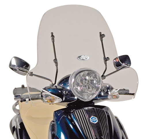 Windshield 103A specifically for Piaggio Beverly Tourer 125-250-