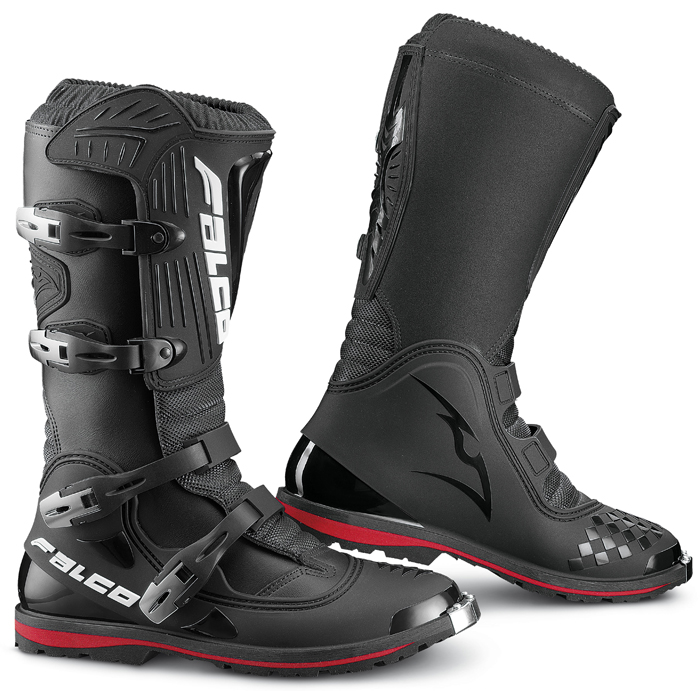 Boots cross Dust LS Black Falco