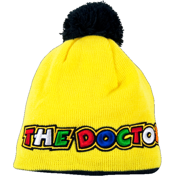 VR46 Pon-Pon The Doctor kid beanie