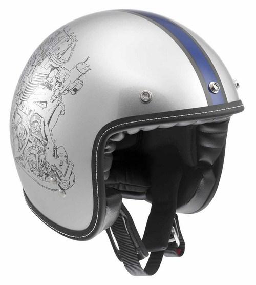 Agv RP60 Engine Grey jet helmet
