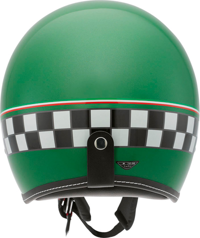 Casco moto Agv RP60 Multi Cafe Racer verde