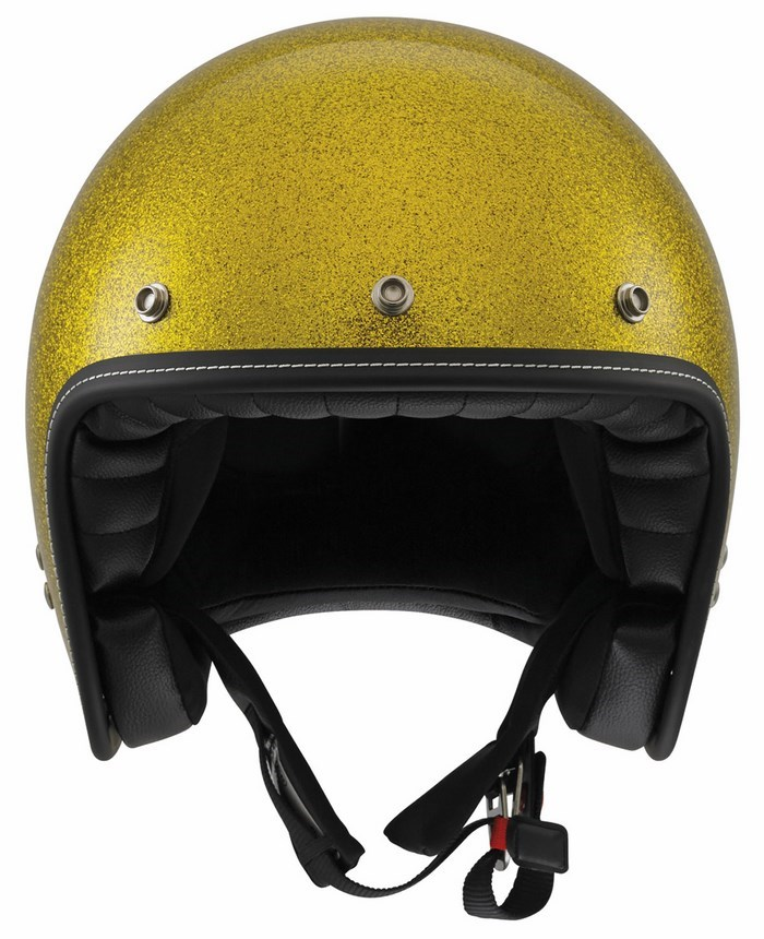 Casco moto Agv City Rp-60 Mono Metal Flake gold