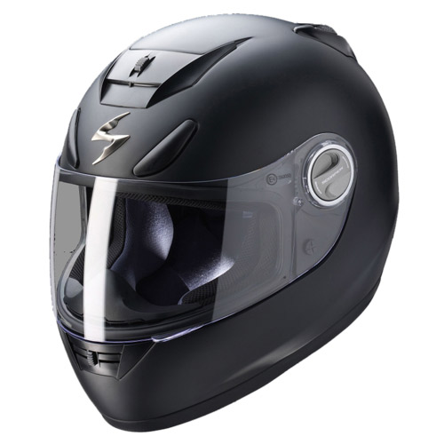 Scorpion Exo 750 Air full face helmet Matt Black