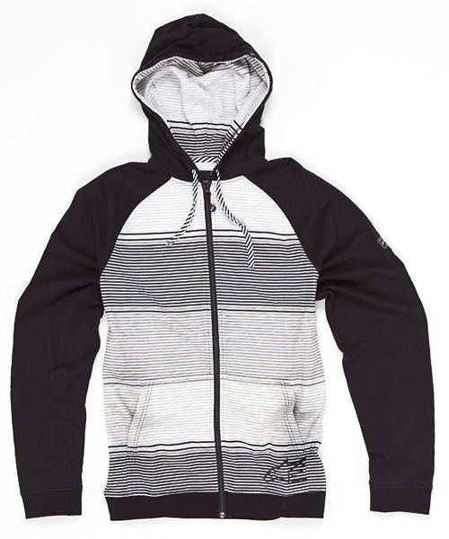 Alpinestars Creeps lightweight full zip hoodie black