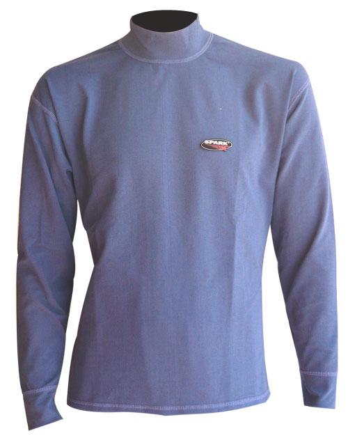 Maglia termica Spark in fibra Meraklon Isofil Blu